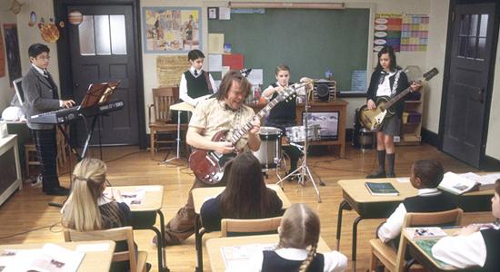 잭 블랙의 저 기타 연주나 애들의 악기 연주는 가짜가  아니에요~