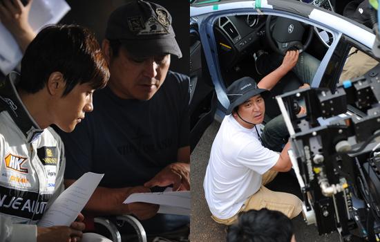4D 영화 <쉐어 더 비전>을 연출한 양윤호 감독