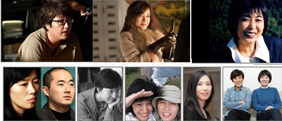올해의 여성영화인상 수상자들