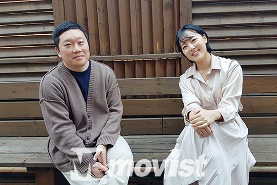 좌) 박근영 감독, 우) 강진아 배우