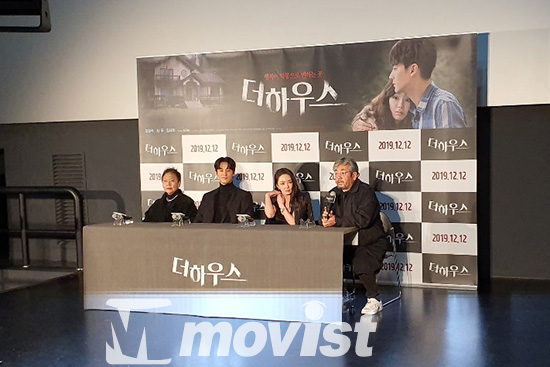 백수련, 오창석, 서우, 박균이 감독(왼쪽부터)