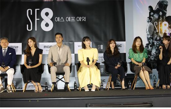 <증강 콩깍지> 오기환 감독, 유이, 최시원, <우주인 조안> 최성은, 김보라, 이윤정 감독